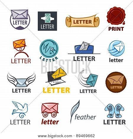 Biggest Collection Of Vector Logo Design Delivery Of Letters