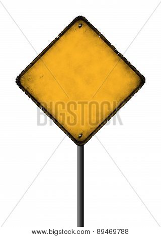 Empty Rhombus Sign