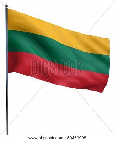 Lithuania Flag Image