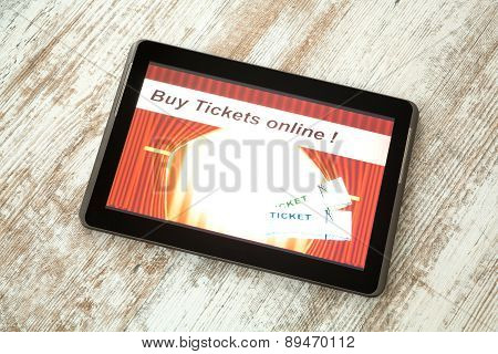 Buy Cinema Tickets Online With A Tablet Pc