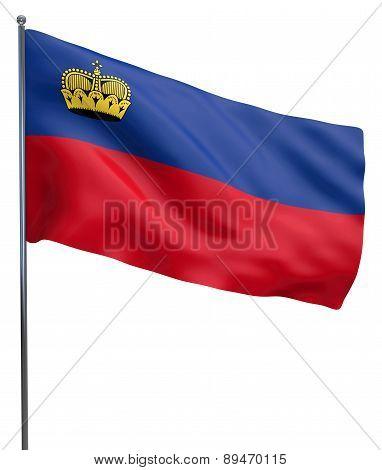 Lichtenstein Flag Image