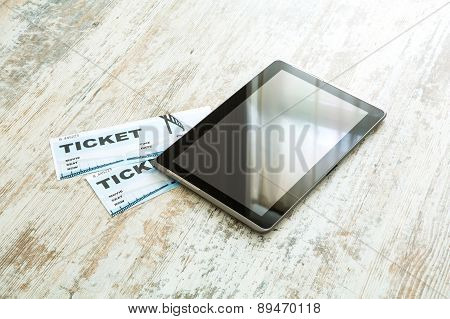 Buy Cinema Tickets Online With A Tablet Pc.