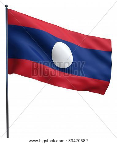 Laos Flag Image