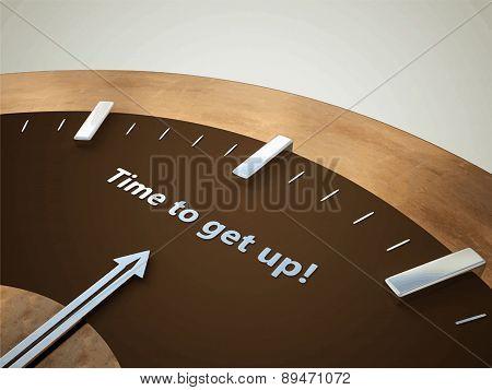 Clock Illustration, Sign, Buttons, Symbol, Emblem, Logo for Web Design, User Interface, Mobile Phone