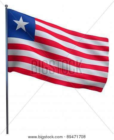 Liberia Flag Image