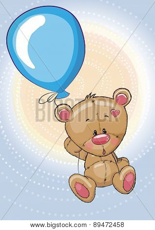 Teddy With Balloon