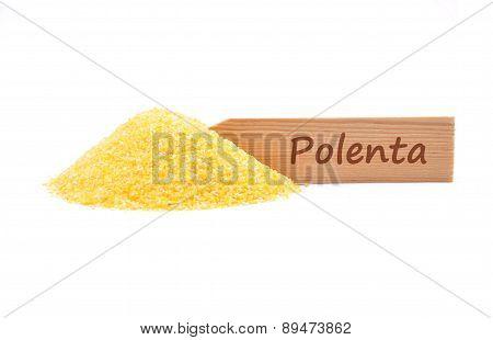 Polenta At Plate
