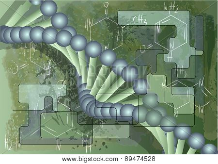 Scientific Background With Dna