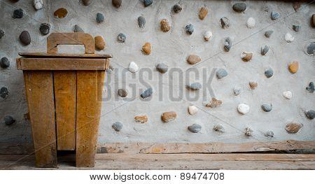 Wooden Bin