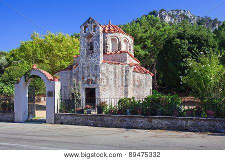 Orthodox Christian Church at Rhodes Island, Greece