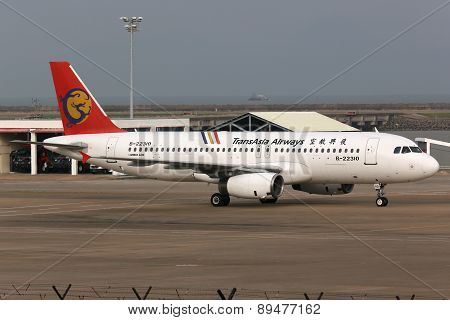Transasia Airways Airbus A320 Airplane