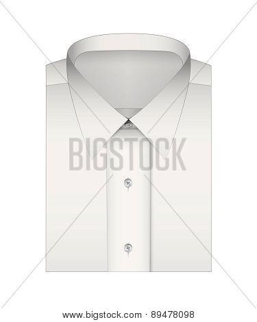 Classic white shirt for men