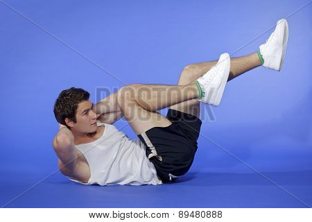 Man Excercising