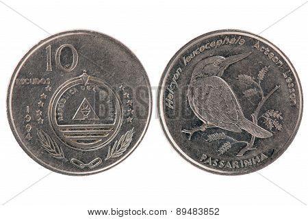 10 Escudos Coin From Cape Verde