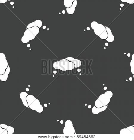Thought bubble pattern
