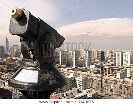 Telescope in Santiago