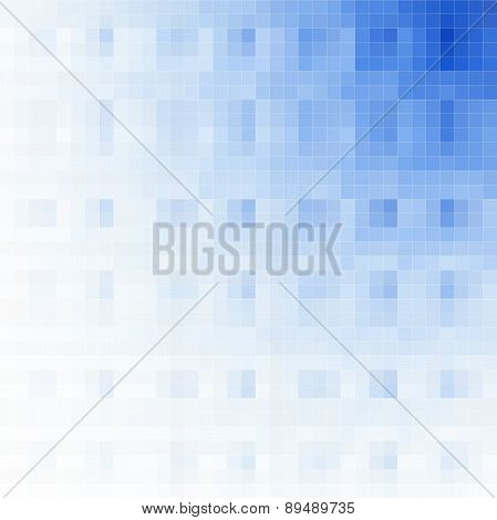 Pixelated Background With Diagonal Gradation