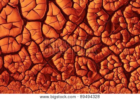 Red-hot Ground Texture