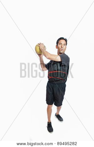 Medicine ball chops