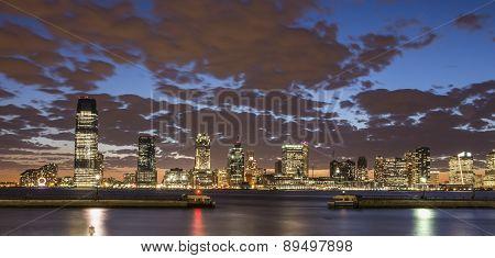 Jersey City Skyline(2)