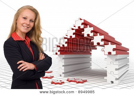 Business Woman - Puzzle House - Solutions