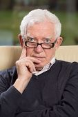 picture of psychologist  - Senior at work as a psychologist - JPG