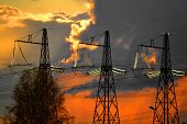 image of substation  - Electric substations play greater role in lifes mankind - JPG
