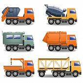 picture of truck-cabin  - Construction Machines Set 2 - JPG
