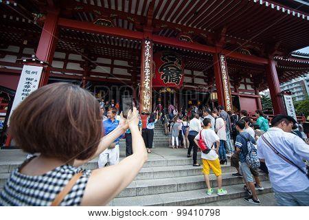 Senso-ji Temple, Asakusa, Tokyo, Japan