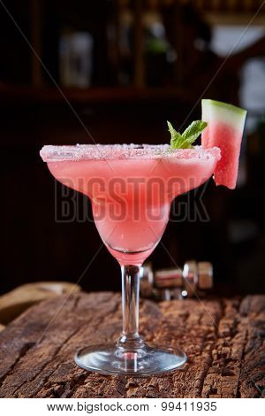 Watermelon frozen cocktail