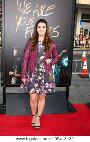 LOS ANGELES - AUG 20:  Jillian Rose Reed at the