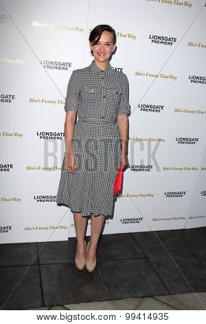 LOS ANGELES - AUG 19:  Jess Weixler at the