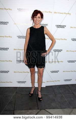 LOS ANGELES - AUG 19:  Carrie Preston at the