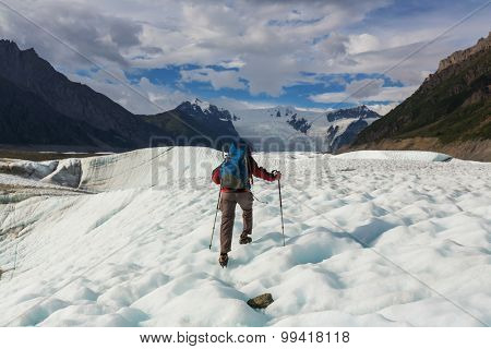 Hike in Wrangell-St. Elias National Park, Alaska