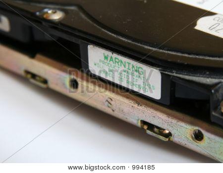 Warranty Warning Label
