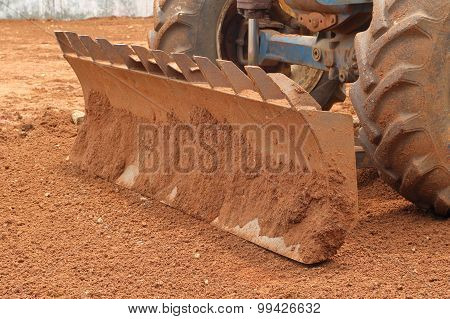 Close-up Tractor Plow