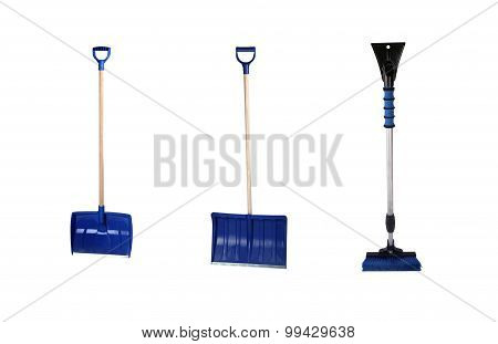 Brush Scraper Shovel