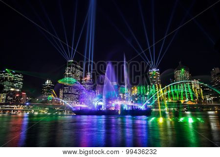 Santos City of Lights Show, Brisbane