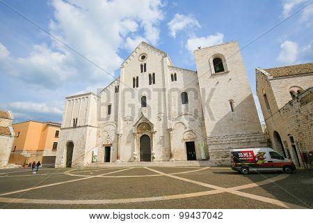 Basilica Of Saint Nicholas In Bari, Puglia, Italy