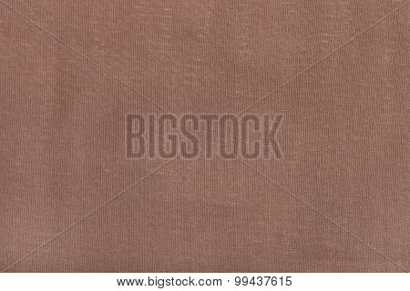 Background From Brown Batiste Fabric
