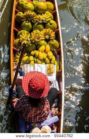 Damnoen Saduak Market, Thailand.