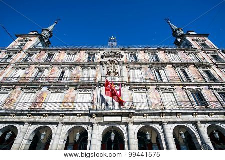Plaza Mayor square, Madrid, Spain