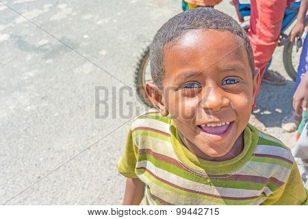 Ethiopian Boy Portrait Picture