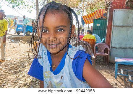Ethiopian Girl, Portrait