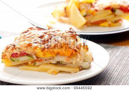 Vegetarian Tomato Casserole