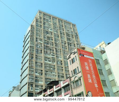 Modern Buildings In Taichung Downtown