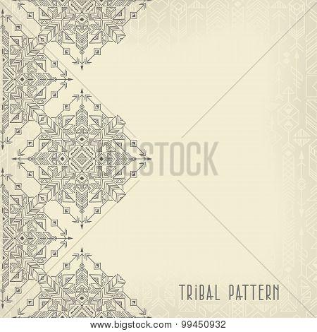 Vintage Tribal Background
