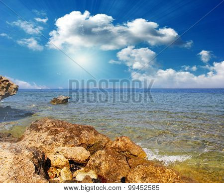 Coast sea