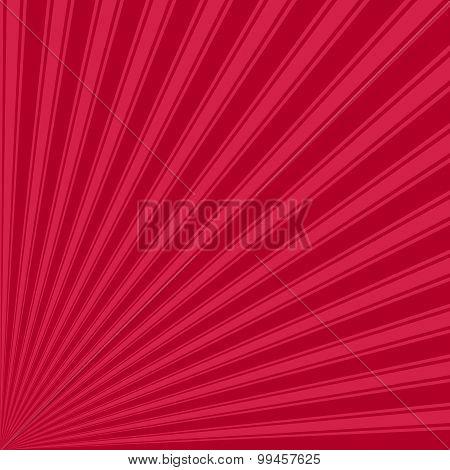 Alabama crimson Color Stripe Funky Sun Rays Backgound