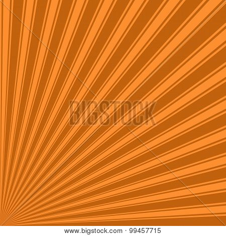 Alloy orange Color Stripe Funky Sun Rays Backgound